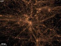 12 миллиардов лет назад Вселенная была гораздо компактнее, чем сейчас, все ее вещество содержалось в области размером 2,6 миллиона лет. С тех пор в космосе стало гораздо просторнее, но некоторая часть