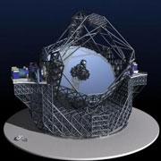 E-ELT, скорее всего, станет самым крупным телескопом Земли на ближайшие десятилетия (иллюстрация с сайта gizmag.com).