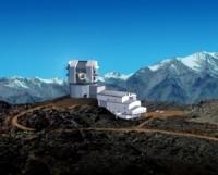 Художественное представление телескопа LSST(иллюстрация с официального сайта проекта)