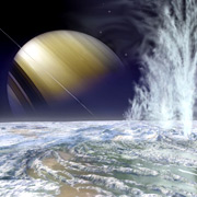Когда под поверхностью Энцелада остынет океан, престанут бить и гейзеры, которыми спутник