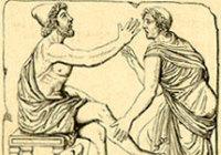 Одиссей на Итаке. Изображение с сайта  mythology.sgu.ru