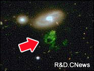 В глубоком космосе выявлен морфологический феномен