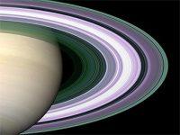 Кольца Сатурна. Изображение с сайта ifa.hawaii.edu