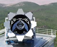Телескоп, который использовался для сбора данных по проекту Sloan Digital Sky Survey (иллюстрация Fermilab Visual Media Services).