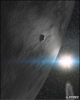 Астероид 24 Темис расположен между Марсом и Юпитером на большом расстоянии от Солнца
