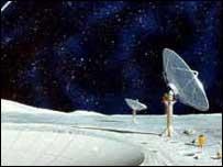 Лунная обсерватория способна заглнуть в глубины Вселенной