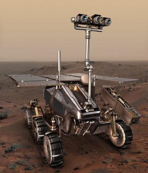 Будущий марсоход Европейского космического агентства — ExoMars, которому предстоит подтвердить или опровергнуть теории ученых. Изображение с сайта www.universetoday.com