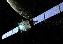 Межпланетный зонд SMART-1. Изображение с сайта www.esa.int/esaCP/SEM2S8WJD1E_index_0.html